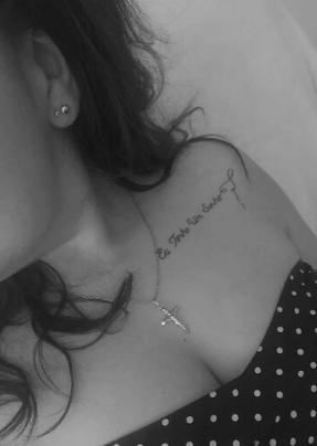Découvrez le tatouage 100% couture de Laurie