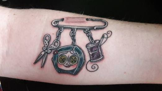 Découvrez le tatouage 100% couture d'Emilie