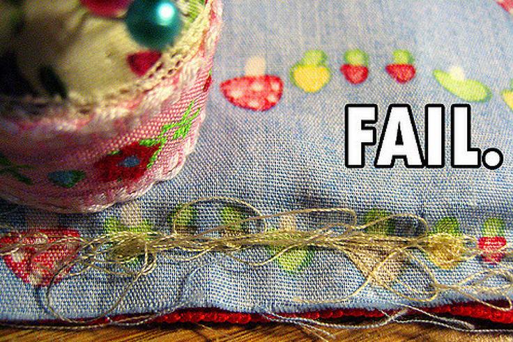 Couture échec