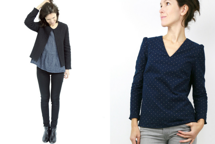 Découvrez l'interview de Johanna, créatrice des patrons de couture Atelier Scämmit !