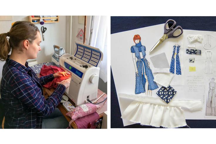 Découvrez l'interview de Coralie Grillet, créatrice de la marque de patrons de couture Wearologie !