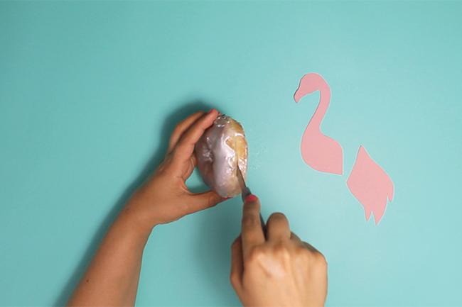 Flamingo_Donuts selber machen_Step 7