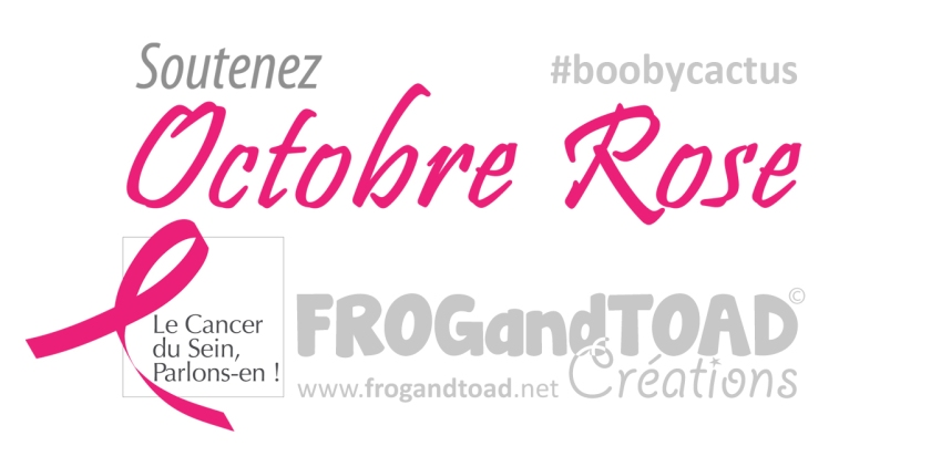 Header Titles Octobre Rose - FROGandTOAD Créations
