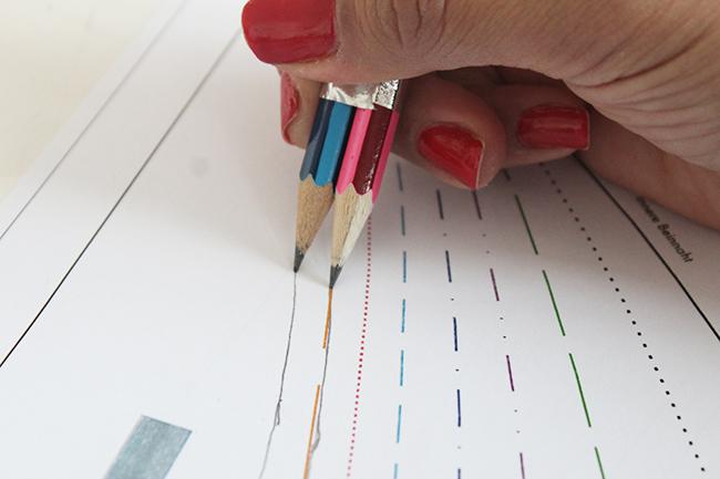 10 astuces de couture - 2 crayons pour une marge de couture parfaite 2
