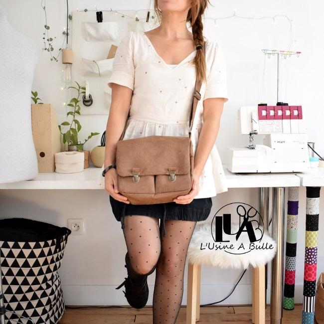 Patron de couture gratuit sac besace