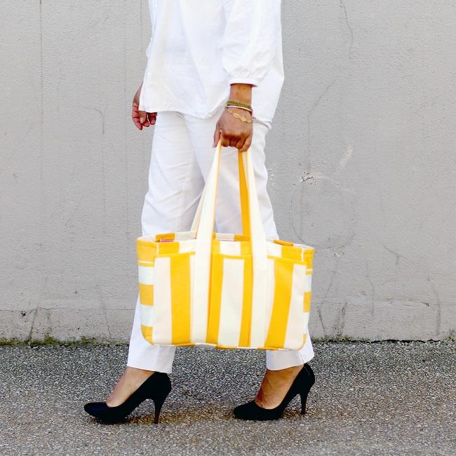 Patron de couture sac Cabas
