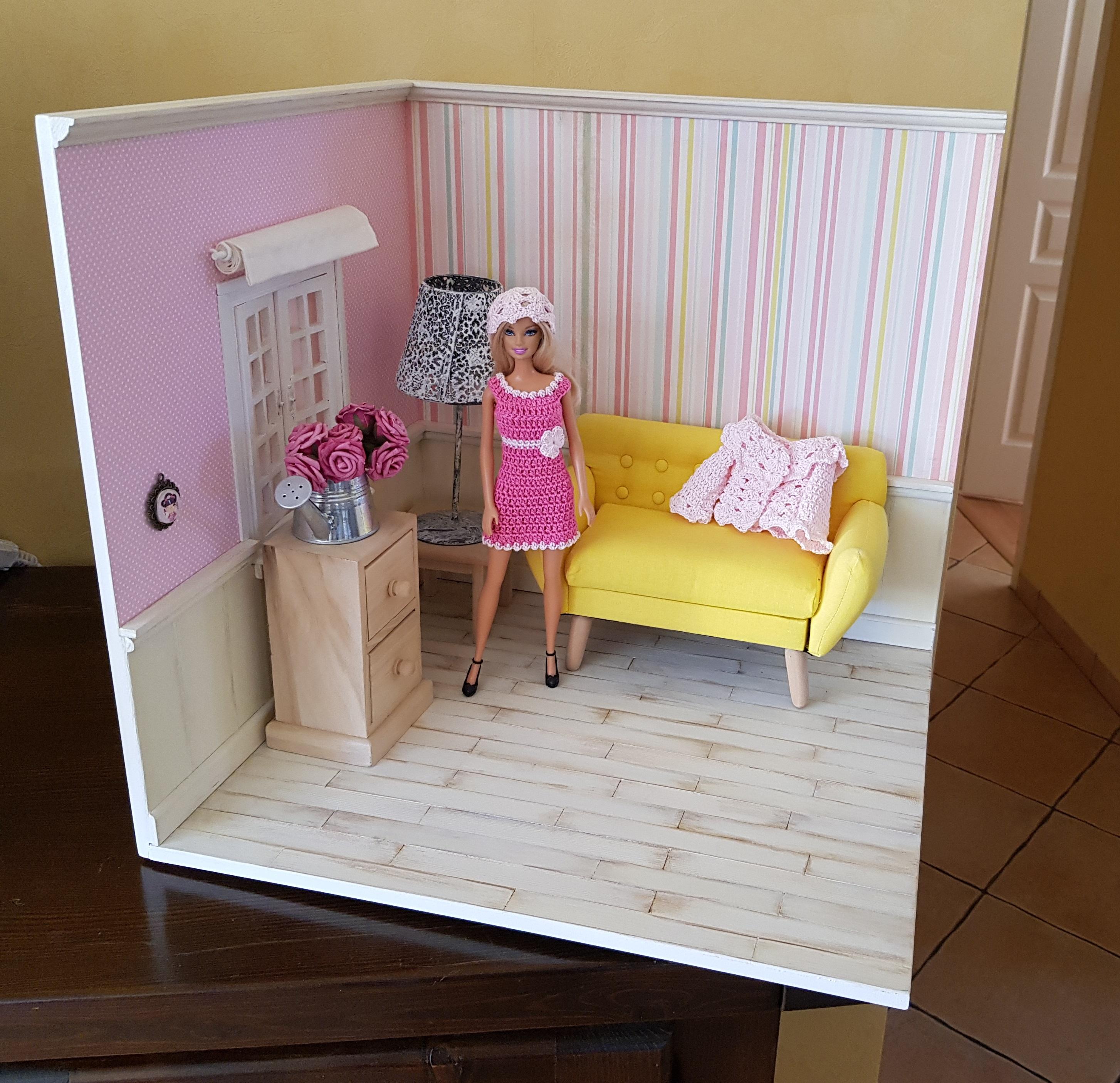 """Patron de la tenue """"Zéléna"""" pour poupée barbie"""