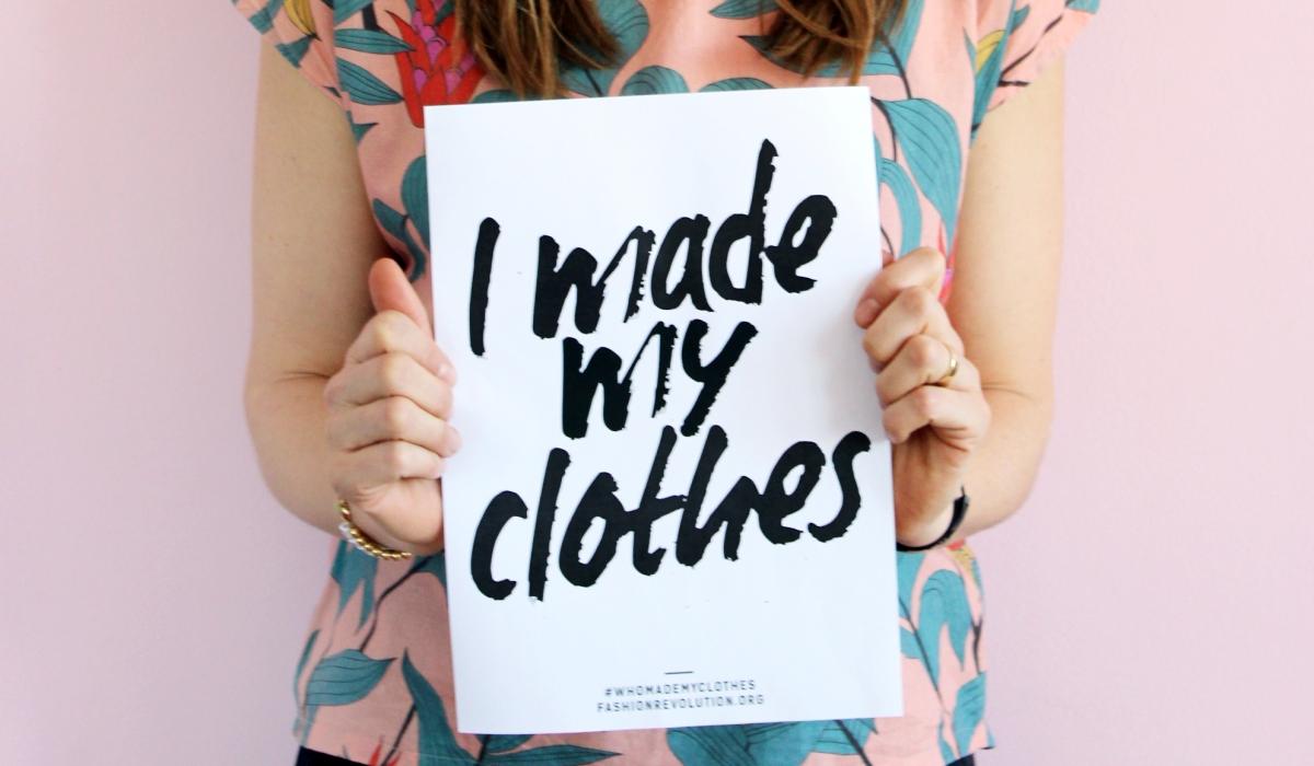 Faites vos vêtements vous-même ! Makerist soutient la Fashion Revolution