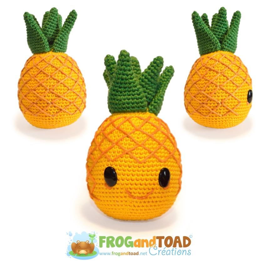 Tuto crochet Ananas