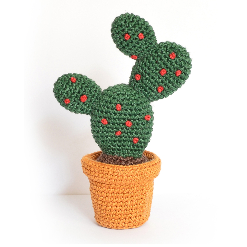 Cactus à crocheter figue de barbarie