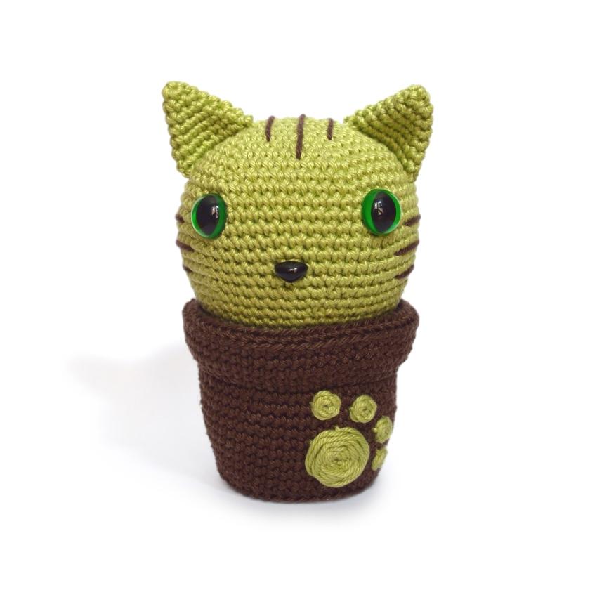 Kitty cactus tuto crochet