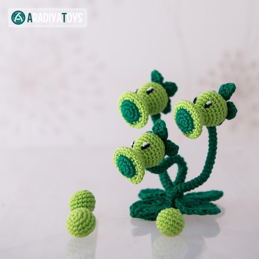 Tuto crochet plante Pistopois