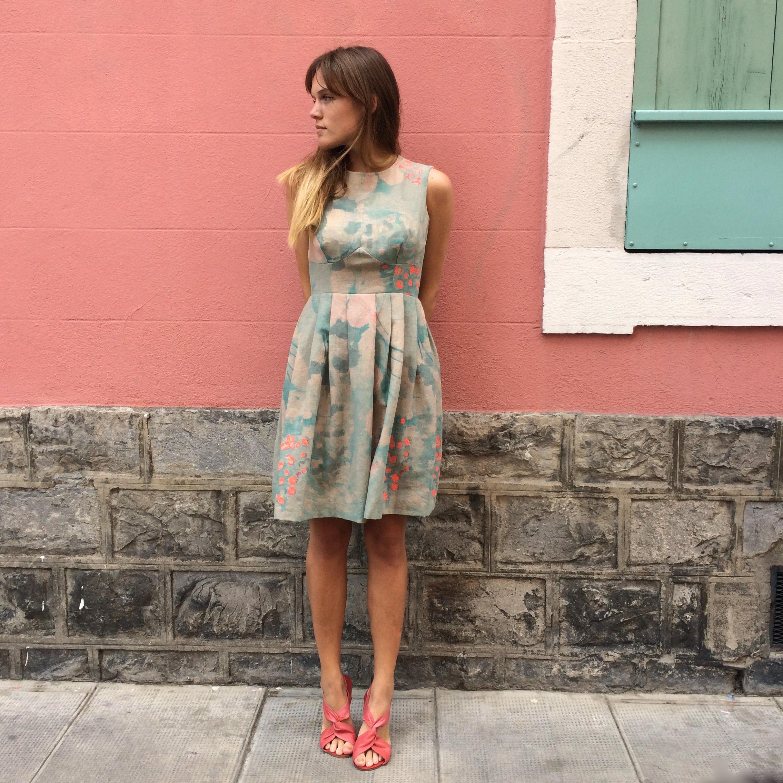 Patron de robe Andolla - Couture mariages et cérémonies de l'été