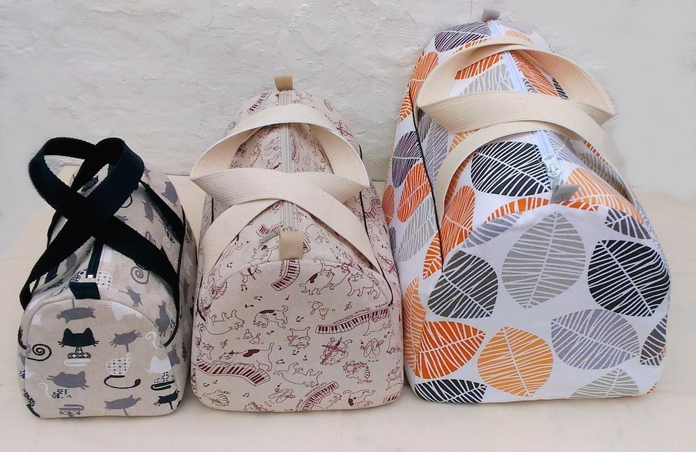 Patron de couture sac fripouille 3 tailles
